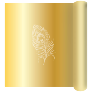 Gold Chrome Avery Wrapping Film - not Vinyl