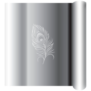 Silver Chrome Avery Wrapping Film - not Vinyl