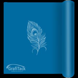 111 Blue Matt Grafitack 100 Series (Indoor) Vinyl