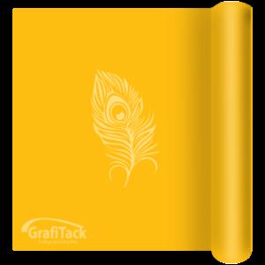 121 Lemon Yellow Matt Grafitack 100 Series (Indoor) Vinyl