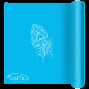 123 Cornflower Blue Matt Grafitack 100 Series (Indoor) Vinyl
