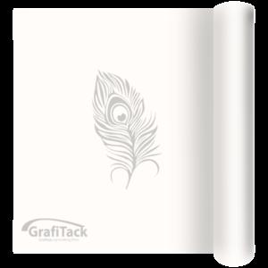 P101 White Glossy Grafitack Promo Vinyl