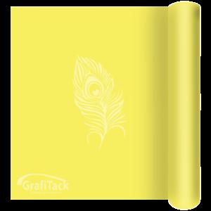 P111 Sulphur Yellow Glossy Grafitack Promo Vinyl