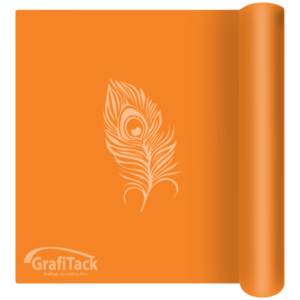 P122 Pastel Orange Glossy Grafitack Promo Vinyl
