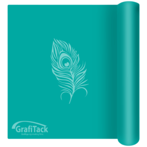 P150 Turquoise Glossy Grafitack Promo Vinyl
