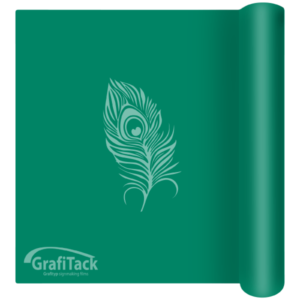 P157 Green Glossy Grafitack Promo Vinyl