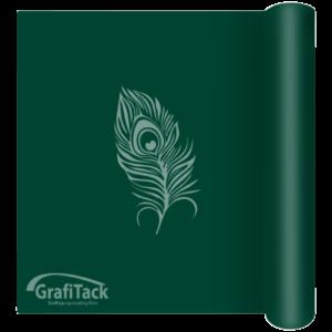 P159 Dark Green Glossy Grafitack Promo Vinyl