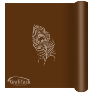 P163 Light Brown Glossy Grafitack Promo Vinyl