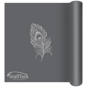 P176 Dark Grey Glossy Grafitack Promo Vinyl