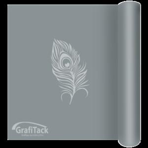 P190 Silver Glossy Grafitack Promo Vinyl