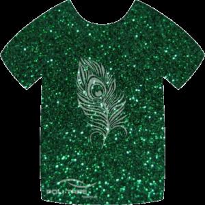 455 Green PoliFlex Pearl Glitter Heat Transfer Vinyl