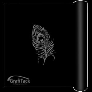 221 Black Glossy Grafitack 200/300 Series (Outdoor) Vinyl