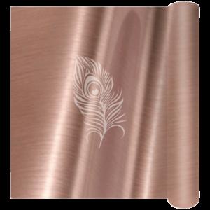 6562 Rose Gold Brushed Self Adhesive Vinyl