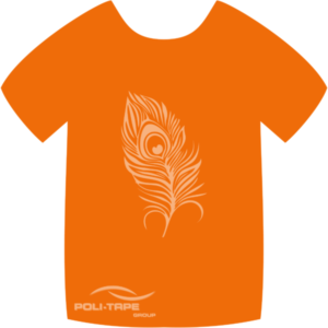 4915 Orange PoliFlex Turbo Heat Transfer Vinyl