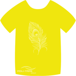 4919 Lemon Yellow PoliFlex Turbo Heat Transfer Vinyl