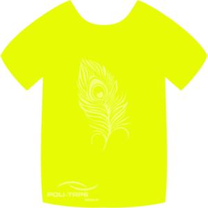 4940 Neon Yellow PoliFlex Turbo Heat Transfer Vinyl