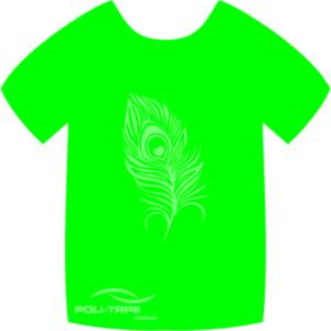 4941 Neon Green PoliFlex Turbo Heat Transfer Vinyl