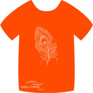 4942 Neon Orange PoliFlex Turbo Heat Transfer Vinyl