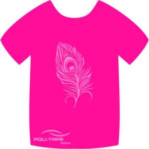 4943 Neon Pink PoliFlex Turbo Heat Transfer Vinyl