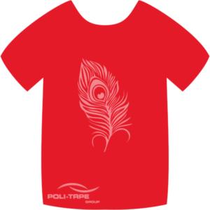 4973 Flame Red PoliFlex Turbo Heat Transfer Vinyl (SPECIALS) 30cmx20cm