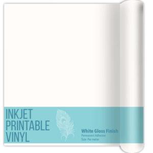 Printable Vinyl Per Meter for Inkjet Printers - Gloss