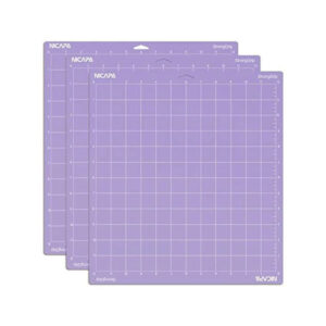 Nicapa Cutting Mat - Strong Grip - Silhouette Cameo 1/2/3/4 (3 pack)