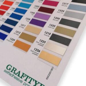 Grafitack Outdoor Vinyl Colour Chart