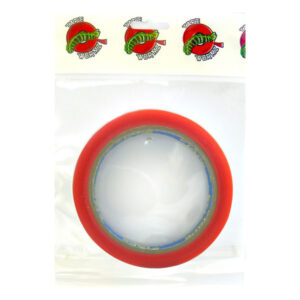 TW7108 Wormz Tape Red Double Sided High Tack Tape - 12mm x 10m