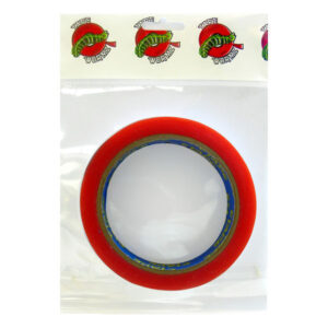 TW7122 Wormz Tape Red Double Sided High Tack Tape - 18mm x 10m