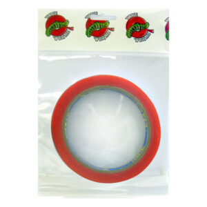 TW7085 Wormz Tape Red Double Sided High Tack Tape - 6mm x 10m
