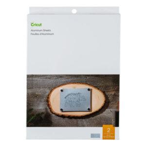 2007460 Cricut Aluminium Sheets (13x18cm, 2 Pack)