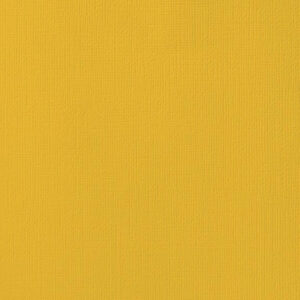 AC ORANGES 71036 AC Cardstock 12x12 Textured - Mustard (1 Sheet)