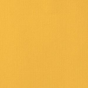 AC ORANGES 71037 AC Cardstock 12x12 Textured - Dandelion (1 Sheet)