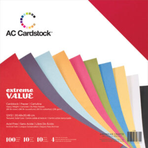 AC 71660 AC Cardstock Value Pack (100 Sheets)