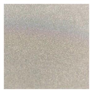 ADCO 727166 A4 Glitter Card - Silver (1 sheet, 250gsm)