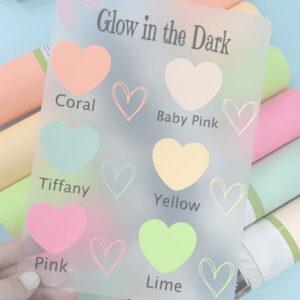 Glow in the Dark Adhesive Vinyl