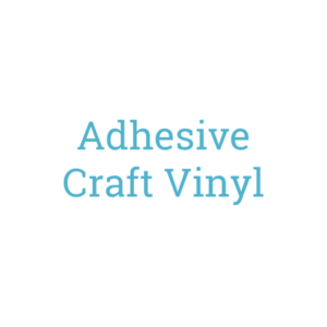 Self Adhesive Craft Vinyl