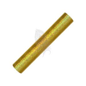 Holographic Sparkle Gold Self Adhesive Craft Vinyl